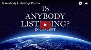 Is Anybody Listening  Promo Video!